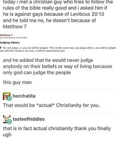 also leviticus is part of the old testament and a lot from the old testament is either different or wrong