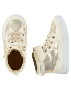 Baby Girl OshKosh Sparkle High-Top sneakers from OshKosh B'gosh. Shop clothing…