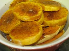 Baked Butternut Squash Rounds
