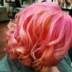 Beautiful color and curls.