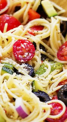 California Spaghetti Salad | Recipe Critic