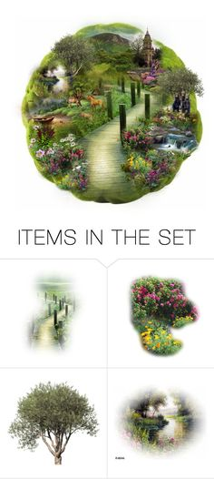 """""""Moss Sphere"""" by terry-tlc ❤ liked on Polyvore featuring art, artset, polyvoreeditorial and artexpression"""