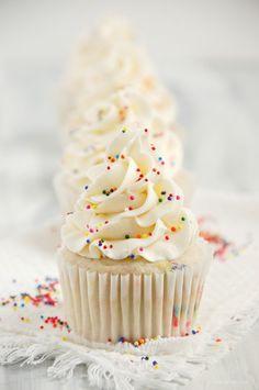 Funfetti Birthday Cake Cupcakes