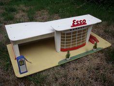 Rarissime Garage Station Esso Depreux 1960 1 43 Etat Exceptionnel | eBay