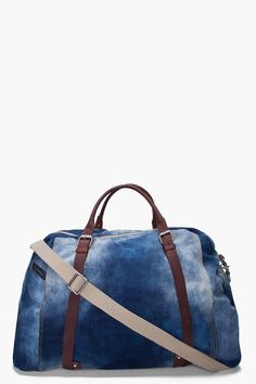 30ab7a2259 Duffie Denim Duffle Bag by ssense Old Jeans