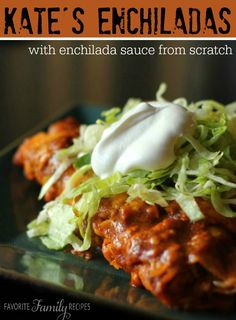 If you've never tried homemade, from-scratch enchilada sauce, you NEED to try this recipe! You'll never go back to the store-bought stuff.