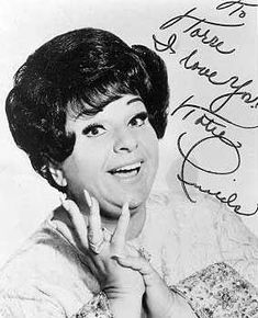 "Totie Fields (1930 - 1978) Comedienne, appeared often on the TV shows ""The Ed Sullivan Show"" and ""The Merv Griffin Show"""