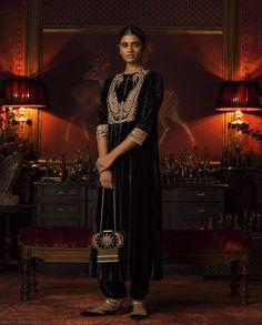 """Indian Fashion - """"Firdaus"""" by Sabyasachi Mukherjee Lehenga, Anarkali, Churidar, Salwar Kameez, Indian Suits, Indian Attire, Indian Wear, Saris, Sabyasachi Suits"""
