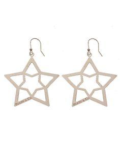 ORECCHINI CON STELLE DORATI ROSA  Orecchini in argento 925 bagnati in oro rosa con pendenti a forma di cuore. pendente mm 7x7.  Prices: $80.21