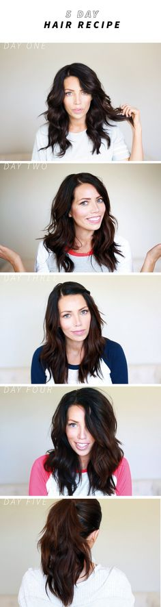Like food prep but for hair! How to get 5 days out of one hairstyle!