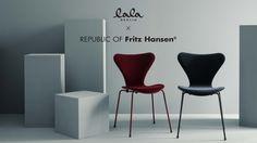 Series 7 velvet in coop with lala berlin Lala Berlin, Fritz Hansen, Arne Jacobsen, Velvet, Chair, Furniture, Home Decor, Decoration Home, Room Decor