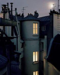 Прогулка по крышам Парижа. Фото