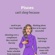 Zodiac Sign Traits, Pisces Quotes, Zodiac Signs Astrology, Zodiac Memes, Pisces Facts, My Zodiac Sign, Zodiac Facts, Pisces Moon Sign, Pisces Fish