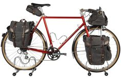 "Prince Edward Island is Canada's smallest province and Eric Estlund of Oregon's Winter Bicycles has paid homage to that area's ""maritime self reliance and spirit of adventure"" with this exemplary tourer.  http://www.winterbicycles.com/projects/pei/"