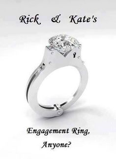 Rick & Kate's Engagement Ring. From Castle HAHAHA