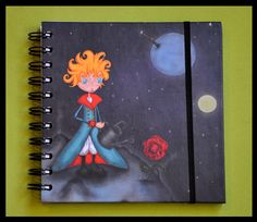 "Printed notebook - Illustration : ""El Principito"" (Le Petit Prince - The Little Prince)"