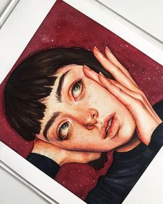 [New] The 10 Best Art Today (with Pictures) - Watercolor Art Face, Watercolor Portraits, Watercolor Paintings, Watercolor Portrait Tutorial, Psy Art, Arte Sketchbook, Art Drawings Sketches Simple, Color Pencil Art, Cartoon Art Styles