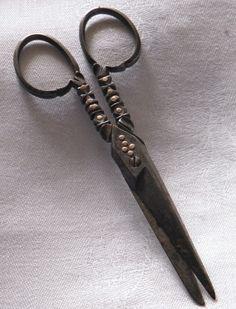 Antique steel scissors Victorian   eBay