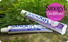A la découverte de 2 dentifrices et 1 brosse à dent Sanogyl http://www.bejiines.fr/2013/11/sanogyl-pour-tes-dents.html