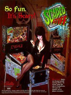 Elvira's Scared Stiff. Via CB750 Cafe.
