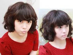 2011 Korean Style Perm Short Hairstyles 7