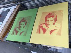 David Bowie screen prints