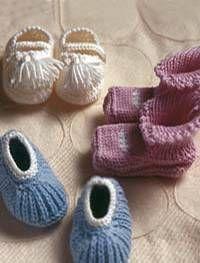 Kleiner geht's nicht: Schühchen, Jäckchen, Kuscheltiere fürs Baby stricken - schnell und einfach. Mit Anleitungen zum Selberstricken.