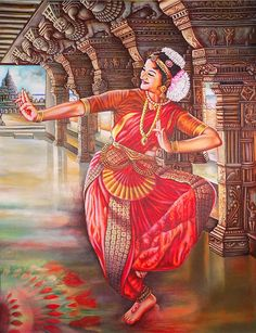easy home decor Indian paintings dance _ indian paintings traditional, indian paintings rajasthani, indian paintings abstract, indian paintings acry Indian Paintings On Canvas, Kerala Mural Painting, Dance Paintings, Tanjore Painting, Mughal Paintings, Scenery Paintings, Dancing Drawings, Art Drawings, Drawing Sketches