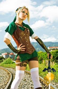Steampunk Link cosplay by Molecular Agatha | #Zelda #crossplay