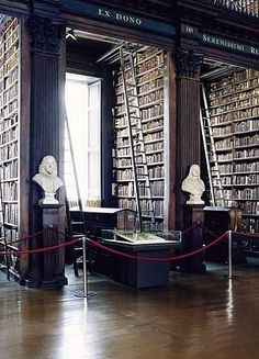 Candida Höfer, Trinity College Library Dublin V 2004