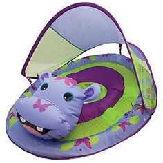 SwimWays Baby Spring Float Hippo - $CAD43.99 : Ottawa baby store. Essentials in style. fabbabygear.com