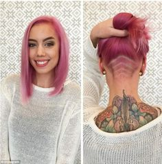 Hidden Hair Tattoos Are Taking The World By Storm - Likes