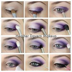 Smoky Eye Makeup Tutorial. Head over to Pampadour.com for product suggestions to recreate this beauty look! Pampadour.com is a community of beauty bloggers, professionals, brands and beauty enthusiasts!