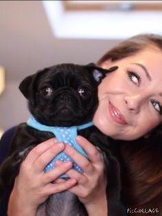 Zoe and Nala (the pug)!