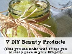 7 DIY Beauty Products