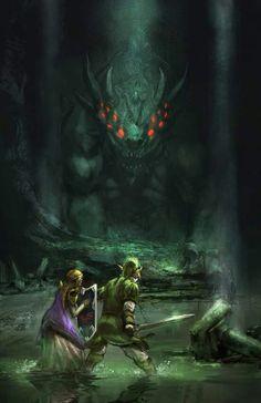 Zelda by Daniel Hayman