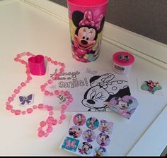 Minnie Mouse / Mickey Mouse Party Favor Cups by SIMPLE2PARTY