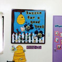 Literary Week Bulletin Board