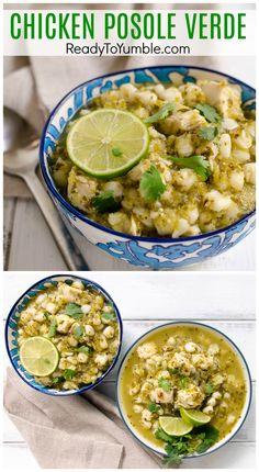 Chicken Posole Verde is a surprisingly flavorful chicken stew with a toothsome bite. Easy and delicious for lunch or dinner! Chicken Posole Verde is a surprisingly flavorful chicken stew with a toothsome bite. Easy and delicious for lunch or dinner! Crock Pot Recipes, Chicken Recipes, Cooking Recipes, Healthy Recipes, Healthy Mexican Food, Easy Mexican Food Recipes, Green Chili Recipes, Mexican Breakfast Recipes, Authentic Mexican Recipes