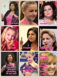 Haha Dance Moms picture with Abby, Chloe and 1 part of Jill so funny haha Dance Moms Quotes, Dance Moms Funny, Dance Moms Facts, Dance Moms Girls, Funny Dance Memes, Ballet Quotes, Dance Hip Hop, Abby Lee, Mom Jokes
