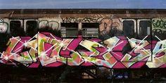 1970's NYC Subway Graffiti | ALPHABET CITY