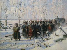 Napoleon's retreat by Vasily Vereshchagin The bodies of some 200 soldiers from the Napoleonic army have been unearthed from a mass grave found near the German city of Frankfurt. The discovery was m