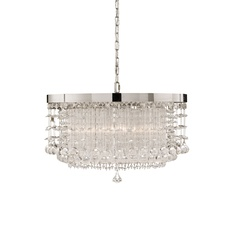 Uttermost Fascination Crystal Chandelier in Chrome