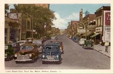 154 best old sault ste marie ontario images on pinterest ontario great picture of ssm in the good ole days look at those cars sault ste marie m4hsunfo