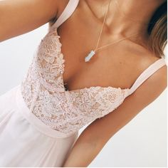 I saw this on a jewelry website advertising the necklace but I fell in love with the dress