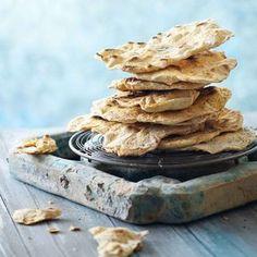 Turkkilainen leipä - Salakis No Salt Recipes, Turkish Recipes, Scones, Food Inspiration, Cereal, Rolls, Baking, Breakfast, Breads