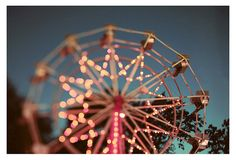 Summer  Photography  Ferris Wheel Photograph  by AliciaBock, $35.00