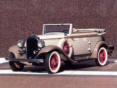 1932 Plymouth PB Phaeton.