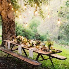 Fancy - Rustic Picnic Table