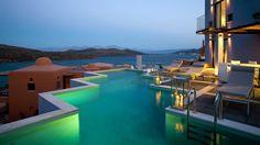 The Domes of Elounda Resort on the coast of Crete, Greece